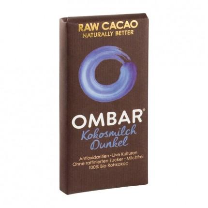 Ombar Organic Raw Probiotic Coconut Chocolate