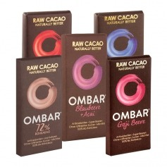 5 x Ombar Schokolade