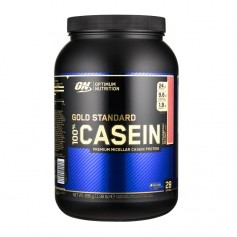 Optimum Nutrition 100% Casein Strawberry, Pulver