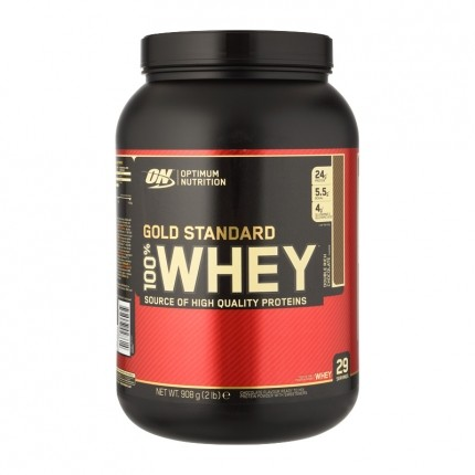 100% Whey Gold Standard, Double Rich Chocolate, Pulver (908 g)