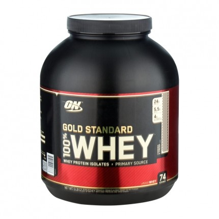Optimum Nutrition 100% Whey Gold Cookies & Cream, Pulver