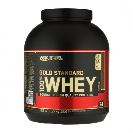 Optimum Nutrition 100% Whey Gold Standard Protein Double Rich Chocolate