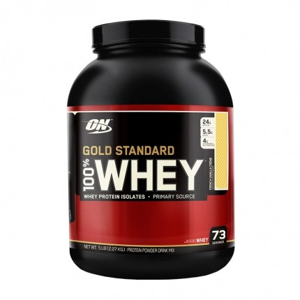Optimum Nutrition 100% Whey Gold Standard Protein French Vanilla Cream, Pulver