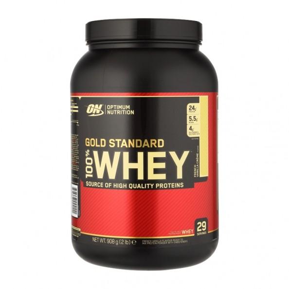 Optimum Nutrition Optimum Nutrition 100% Whey Gold Standard Protein French Vanilla Creme, Pulver