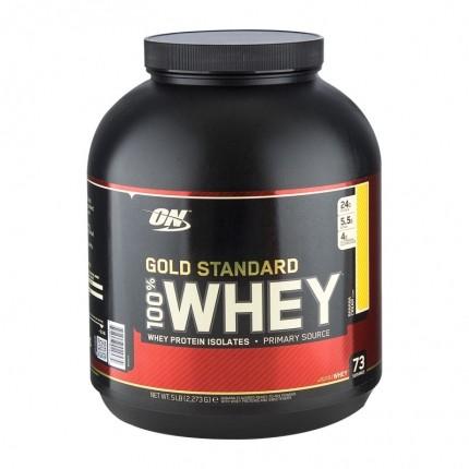 Optimum Nutrition 100 % Whey Gold Standard Protein - banankrem, pulver