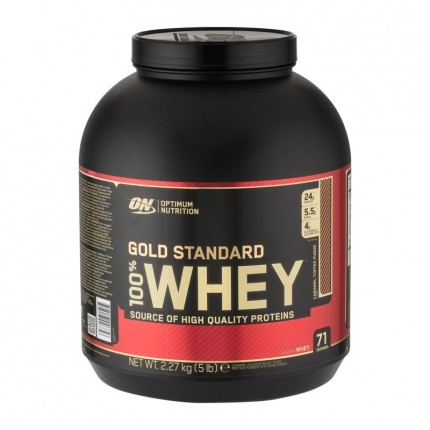 Optimum Nutrition 100% Whey Gold Standard Protein Caramel Toffee