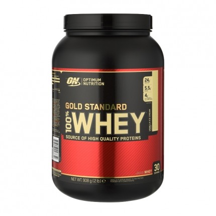 Optimum Nutrition Optimum Nutrition 100% Whey Gold Standard Protein Vanilla Ice Cream, Pulver