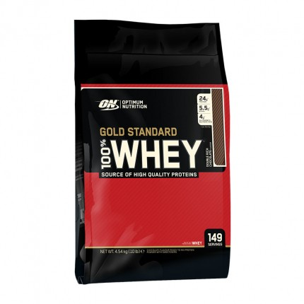 Optimum Nutrition 100% Whey Gold Standard Chocolate, Pulver