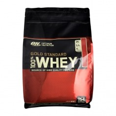 Optimum Nutrition 100% Whey Gold Standard Strawberry, Pulver
