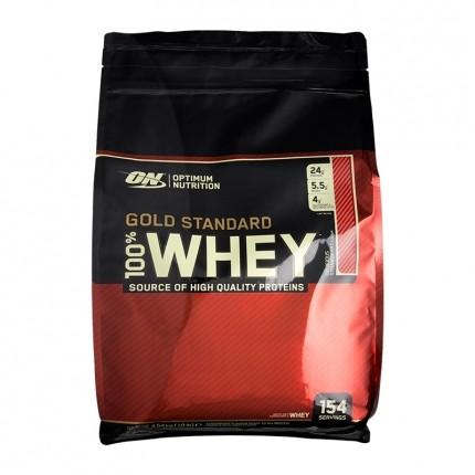 Optimum Nutrition 100% Whey Gold Standard Strawberry, Pulver