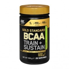 Optimum Nutrition BCAA Train+Sustain, Apfel-Birne