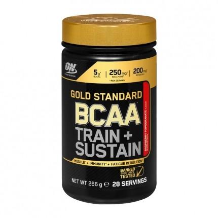 Optimum Nutrition BCAA Train+Sustain, Himbeere-Granatapfel