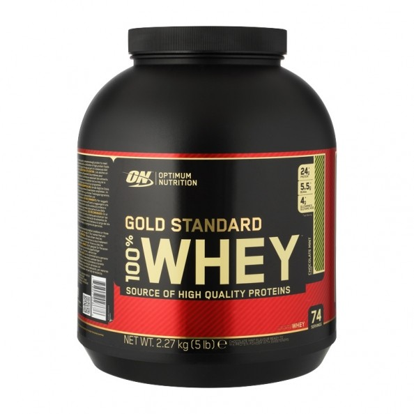 Optimum Nutrition 100 Whey Gold Chocolate Mint Powder