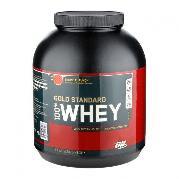 Review: ON 100% Whey Protein., Tropical Punch ...