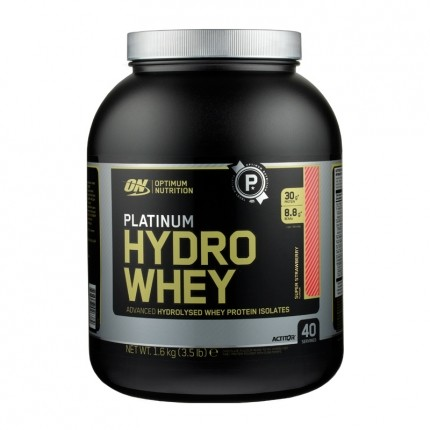 Optimum Nutrition Hydro Whey Strawberry, Pulver