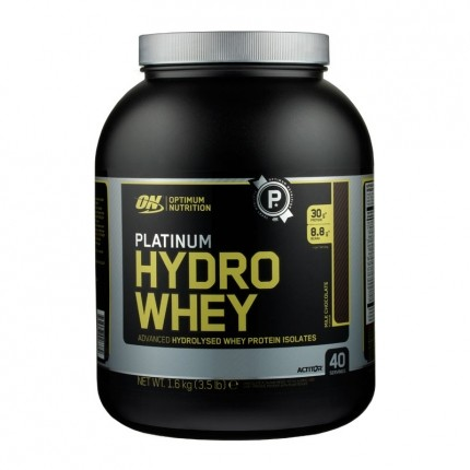 Optimum Nutrition Hydro Whey sjokolade-pulver
