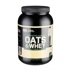 Optimum Nutrition Natural 100% Oats & Whey Vanilla, pulver