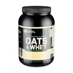 Optimum Nutrition Natural 100% Oats & Whey Vanilla, Pulver