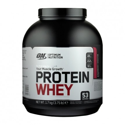 Protein Whey, Erdbeere-Smoothie, Pulver (1700 g)