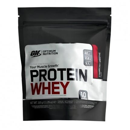 Protein Whey, Erdbeere-Smoothie, Pulver (320 g)