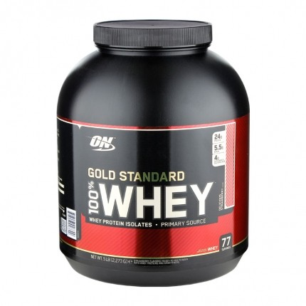 Optimum Nutrition 100% Whey Gold Délice de Fraise, Poudre