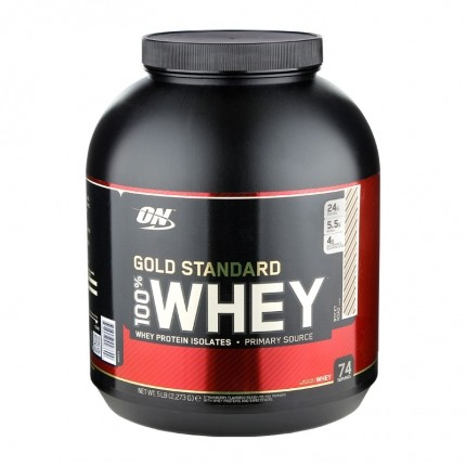Optimum Nutrition 100% Whey Gold Rocky Road, Poudre