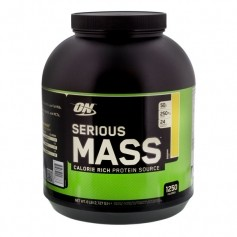 Optimum Nutrition Serious Mass - banan, pulver