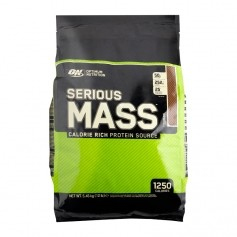 Optimum Nutrition Serious Mass Chocolate, Pulver