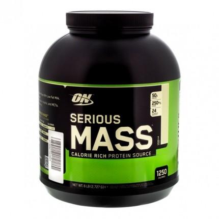 optimum nutrition serious mass vanilla 2727 g bei nu3. Black Bedroom Furniture Sets. Home Design Ideas