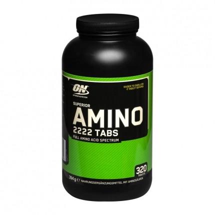 Optimum Nutrition, Superior amino 2222, comprimés