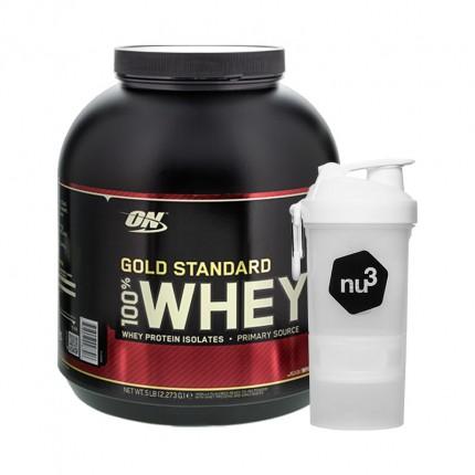 Optimum Nutrition 100% Whey Gold Standard + nu3...