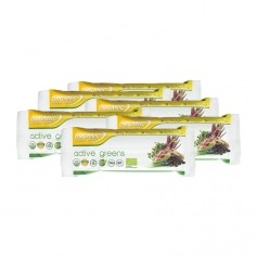 6 x Organic Food Bar Active Greens Bio Riegel
