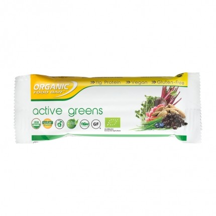 Organic Food Bar Active Greens Bio Riegel