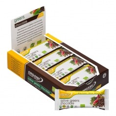 Organic Food Bar Bio Active Greens Chocolate