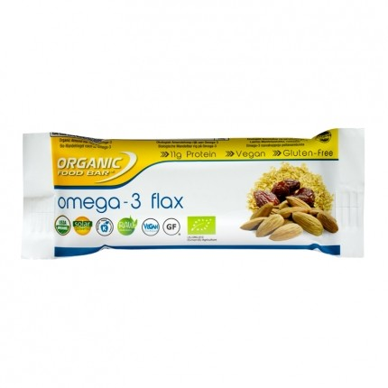 Organic Food Bar Omega-3 Flax Bio Riegel