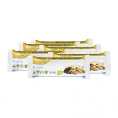 6 x Organic Food Bar vegetarischer Proteinriegel Bio