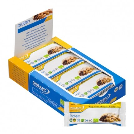 Organic Food Bar Bio Protein (12 x 68 g)