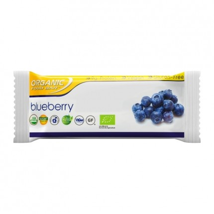 12 x Organic Food Bar Blueberry Organic Bars