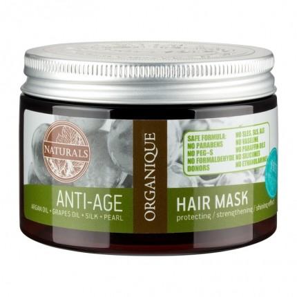 Organique Anti-Age Haarmaske mit Arganöl und Perlenextrakt