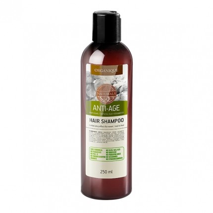Organique Anti-Aging Shampoo with Argan Oil and Silk Extract