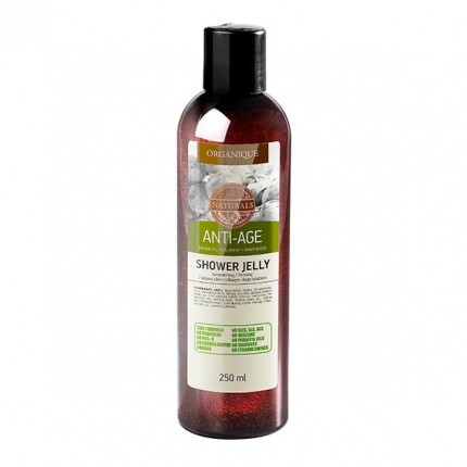 Organique Anti-Aging Shower Gel with Argan Oil & Pearl Extract