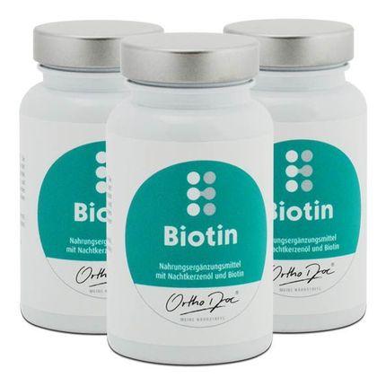 3 x OrthoDoc Biotin, Kapseln