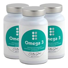 3 x OrthoDoc Omega 3, Kapseln
