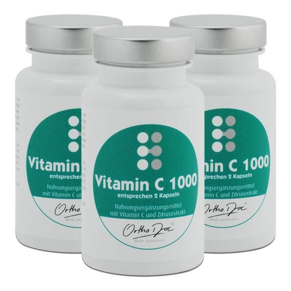 orthodoc vitamin c 1000 im 3er pack g nstig kaufen. Black Bedroom Furniture Sets. Home Design Ideas