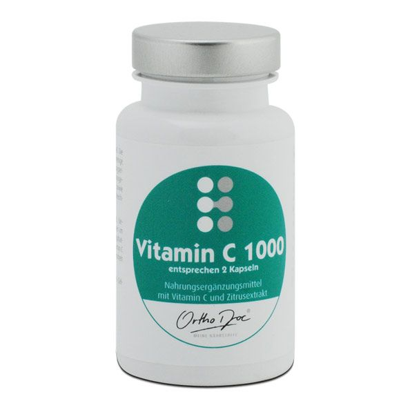 Orthodoc Vitamin C 1000 Capsules For A Great Immune System