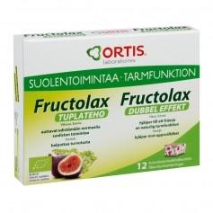 Fructolax Fructolax Tuplateho kuut. LUOMU (BE-BIO-01) 12 kpl / 120 g