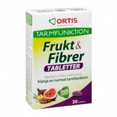Ortis Frukt & Fibrer 30 tabl