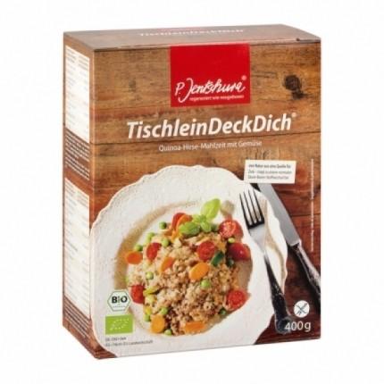 P. Jentschura TischleinDeckDich Quinoa-Hirse-Mahlzeit
