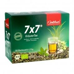 P. Jentschura 7x7 Kräutertee, Filterbeutel