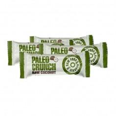4 x Paleo Crunch Bar, Raw Coconut, øko